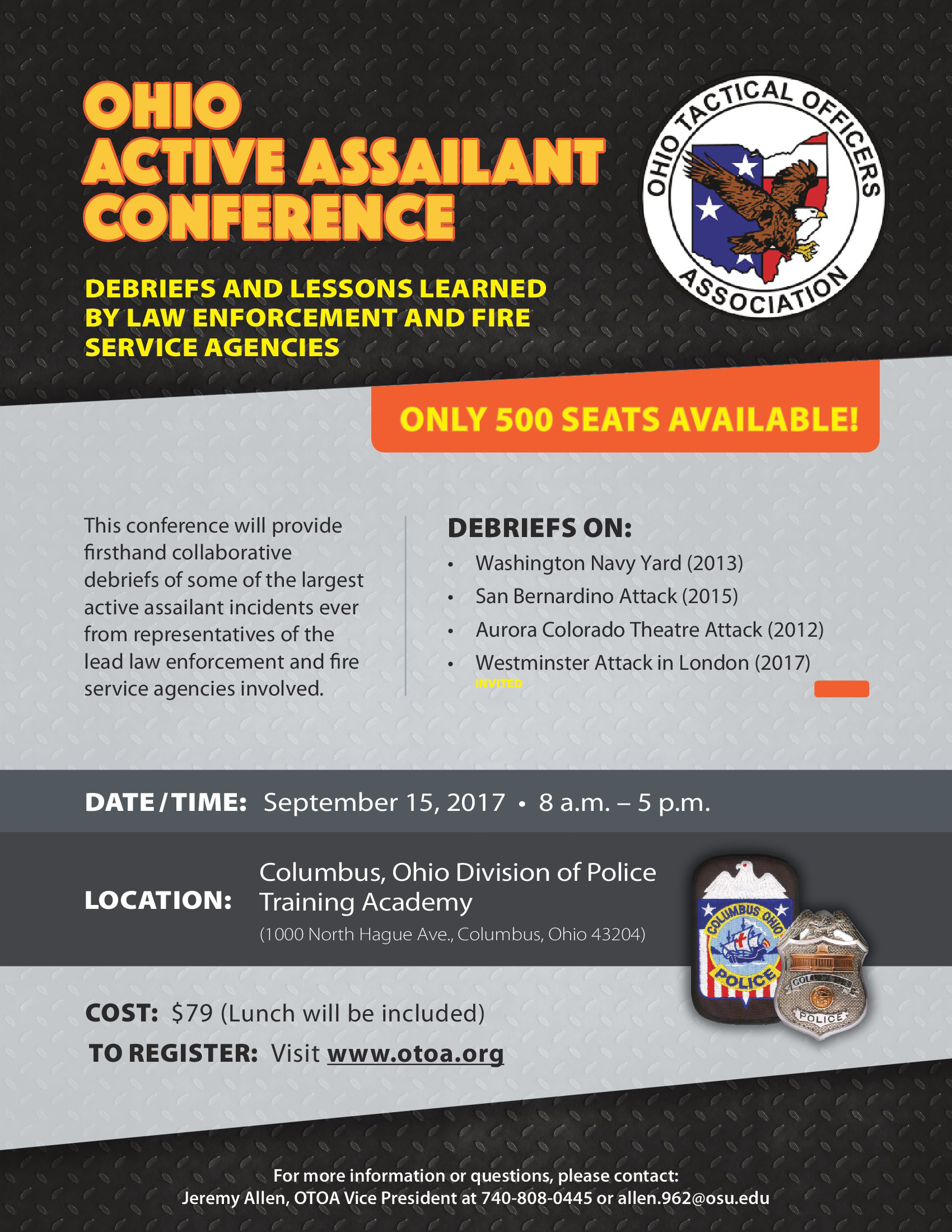 Active Shooter Updated lineup