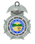 OHIO TACTICAL OFFICERS ASSOC MEDAL OF VALOR transp